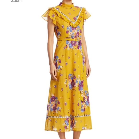 Coach Dresses & Skirts - Daisy Bouquet Western Fit-&-Flare Dress